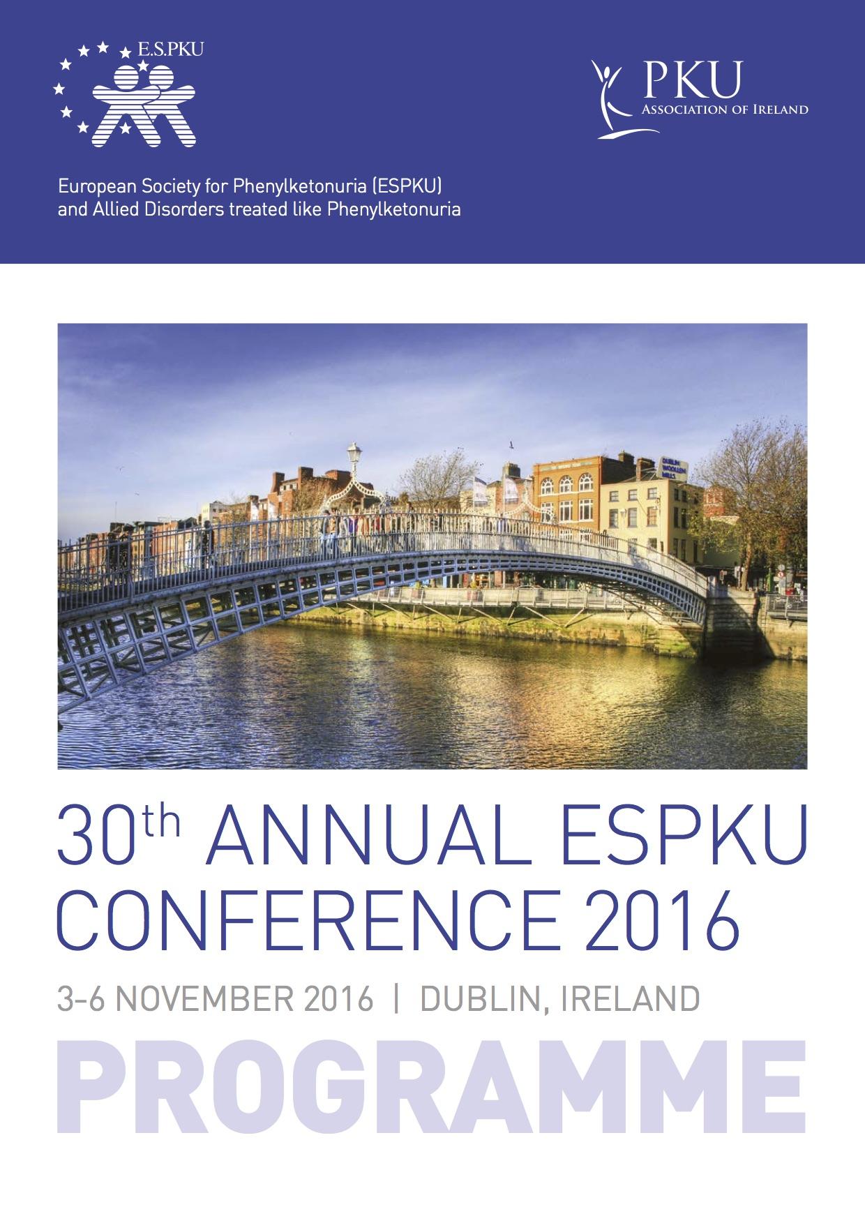 E.S.PKU Conference 2016 Programme
